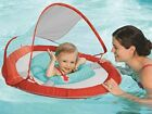 Toddler Float Sun Shade Canopy Swimming Pool Ride Beach Seat Inflatable Kids NEW