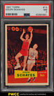 1957 Topps Basketball Dolph Schayes ROOKIE RC #13 PSA 7 NRMT (PWCC)