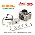 TZ 02B 150cc 180cc 61mm Racing Cylinder Assy GY6 Parts Chinese Scooter Motor