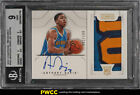 2012 National Treasures Anthony Davis ROOKIE AUTO PATCH 199 #151 BGS 9 (PWCC)