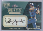 ROBIN YOUNT 2001 DONRUSS SIGNATURE SERIES AUTO 89 BREWERS