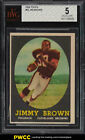 1958 Topps Football Jim Brown ROOKIE RC #62 BVG 5 EX (PWCC)