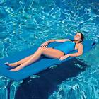 WOW Luxury Supreme Soft 70 Foam Pool Soft Mat Raft Lounger Float Blue Swimming