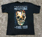 MOTLEY CRUE The Final Tour ALL BAD THINGS Must Come to an End T Shirt Size XL