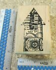 ARROW COLLAGE MW RUBBER STAMP STAMPER ANONYMOUS J2 987