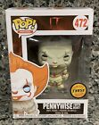 NEW FUNKO POP! IT #472 PENNYWISE WITH BOAT LIMITED EDITION CHASE FIGURE NOT MINT