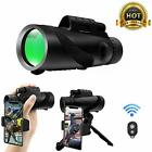 High Power Monocular Telescope 12x50 HD BAK4 Prism FMC Compact Monocular N