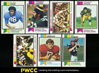Lot(94) 1973 Topps Football w Stabler Page Csonka Harris, VGEX to EXMT (PWCC)