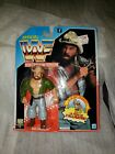 WWF Hasbro Skinner Action Figure 1992 on card MOC foriegn card