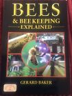 Author Signed Book Bees  Bee Keeping Explained by Gerard Baker Countryside Book