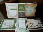 Set of 6 Handmade Cards Stampin Up magnolia lane