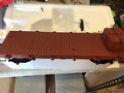 BACHMANN G 95699 20 FlatCar With 2 Crates as Load  Metal Wheels  Knuckles NEW