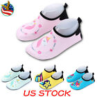 Kids Baby Toddler Quick Dry Water Shoes Summer Beach Surfing Swimming Socks USA