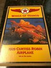 Wings of Texaco - 1929 Curtiss Robin Airplane Diecast Metal - 6th in the Series,