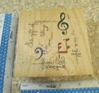 GIFT OF MUSIC MW RUBBER STAMP STAMPS HAPPEN