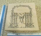 GARDEN GATE MW RUBBER STAMP INKY ANTICS