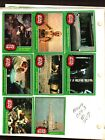1977 TOPPS STAR WARS CARDS SERIES 4 GREEN PARCEL SET 65 66 .....