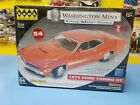 HAWK WASHINGTON MINT 1970 FORD TORINO GT DIE CAST MODEL KIT NEW
