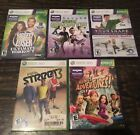 Lot of 5 XBOX 360 Your Shape FIFA Street Biggest Loser Kinect Sports Adventures