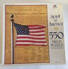 Vtg Spirit of America Patriotic 500 Pc Jigsaw Puzzle BIRTH OF A NATION 4 July