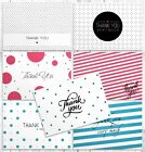 42 Thank You Cards Bulk for Wedding Baptism  Baby Shower  Greeting Note Cards