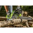 Electric Cordless Chainsaw 14 in 40 Volt Top Handle Lithium Ion Battery Powered