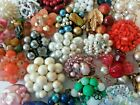 BIG Lot 30 Vintage SINGLE CLIP NO PAIR Cluster Earrings All Kinds Craft Upcycle