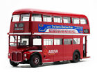 ROUTEMASTER RM 76 DOUBLE DECKER BUS RED 1 24 DIECAST MODEL BY SUNSTAR 2941