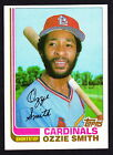 1982 TOPPS TRADED #198T OZZIE SMITH CARDINALS