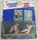 1989 STARTING LINEUP One On One Figures Eric Davis Gary CARTER UNOPENED