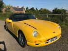 1999 TVR CHIMERA 400 YELLOW CONVERTIBLE ONLY 7600 MILES VERY LOW MILEAGE 40 V8