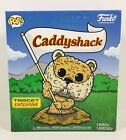 NEW Funko POP! Caddyshack FLOCKED GOPHER Target Exclusive with Golf Hat NIB