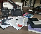 Canon EOS 450D 12.2MP Digital SLR Camera - Black (Kit with EF-S 18-55mm f/3.5-5…
