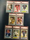 1986-87 TOPPS HOCKEY complete SET 1-198 PATRICK ROY ROOKIE  w PSA graded cards