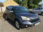 Honda CR V Grey 07 2204cc Diesel Manual 4 Wheel Drive Excellent Service History