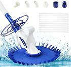 Swimming Pool Automatic Cleaner Set climbs wall 30 Ft hose in Ground Pool Spa