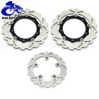 Front Rear Brake Disc Rotors for Yamaha TMAX T-MAX XP530 IRON LUX MAX ABS 12-17