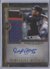 ROBERTO ALOMAR 2019 TOPPS MUSEUM MOMENTOUS MATERIAL AUTO PATCH 1 5 METS