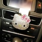 Luxury Hello Kitty Car Steering Wheel Cover Storage Box Ashtray Perfume Interior