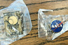 NASA Official Meatball Vector Logo and 50 Years Lapel Pin Enamel New Sealed