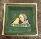 Vintage 1983 Hallmark Keepsake Ornament Frosty Friends Seal Kissing Eskimo