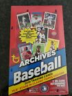 2019 Topps Archives Hobby Box - Factory Sealed -2 ON-CARD AUTOGRAPHS Per box!!!