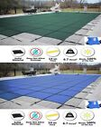 GLI ValueX Solid Swimming Pool Winter Safety Cover w Center End Step  Pump