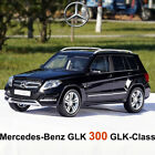 Black Mercedes Benz GLK 300 GLK Class SUV Car GTA 118 Scale Diecast Model