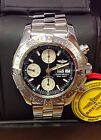 Breitling Superocean Chronograph A13340 Black Dial BOX AND PAPERS 2009