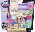 Littlest Pet Shop Medical Clinic Dog Albie Kitty Cat Pipsy Pet Tales LPS