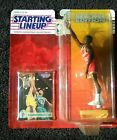 SLU 1994 ERROR Hakeem Olajuwon Figure/Alonzo Mourning Card