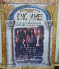 KING JAMES - SELF TITLED S/T - 1994 PROMO POSTER  -  WHITECROSS  STRYPER