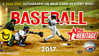 2017 TOPPS HERITAGE BASEBALL HOBBY BOX FACTORY SEALED NEW