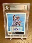 2010 Topps Magic Drew Brees Autograph BGS 9 Mint 10 Auto SSP Rare Saints Tough